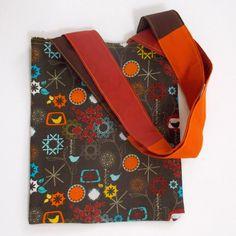 Reversible Small Tote Bag. Small Handbag Reversible. di 5foot1