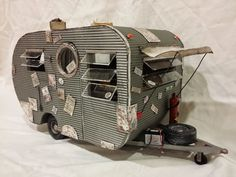 Retro Travel Trailer