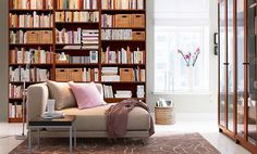Personal Library Design | Book Shelves for Personal Library Decorating and Modern Design Style
