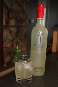 Spicy Skinnygirl Margarita...for all you Skinnygirls who like it spicy!