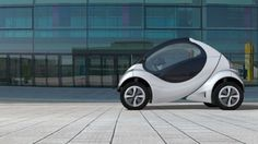 Hiriko - the fold-up electric two-seater set for 2013