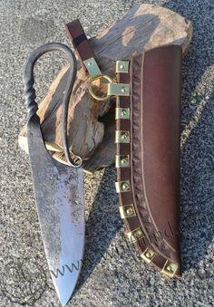 Bildresultat för björkö knife sheath fitting open work