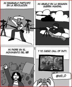 Yo juego al Call of Duty. #humor #risa #graciosas #chistosas #divertidas