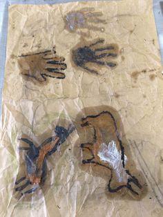 Pittura rupestre...classe 3a - MaestraMarta Stone Age, Africa, 3, Men Cave, Manualidades, Afro