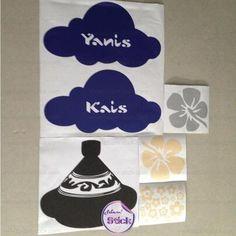 Les commandes de #Stickers expédiés hier ! #deco #nuage #flower