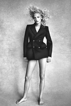 Frederikke Sofie by Patrick Demarchelier for Vogue Australia October 2016 | The Fashionography