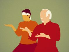 Illustration: Oscar Ramos Orozco http://99u.com/articles/36393/how-to-find-a-mentor