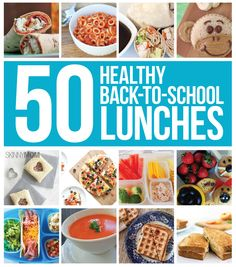 You'll love these healthy back-to-school lunch ideas!