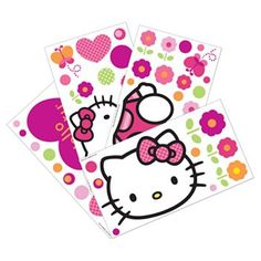 Hello Kitty Garden Wall Decals by Lambs & Ivy