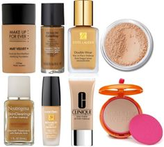 Foundations acne prone skin Love the make up forever and Estée Lauder foundations on this list
