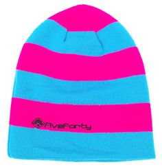Five-Forty Beanie Blue/Vivid Pink