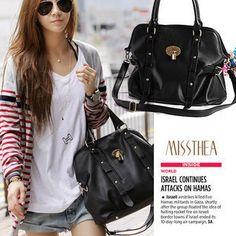 Leather Strap Shoulder Bag