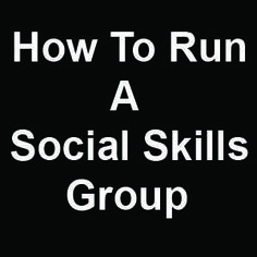 How to Run a Social Skills Group Many of our children with language delays also have trouble with social skills. This may be due to certain conditions that impair social skills, like autism, or it may just be because these children have trouble learning language and social interactions rely heavily on language skills. Whatever the cause,