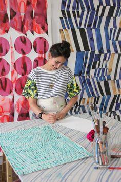 Artist Spotlight Series: Kate Roebuck of The Bowerbird Collective | The English Room