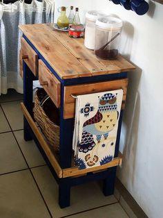 100% Pallet Sideboard Pallet Desks & Pallet Tables