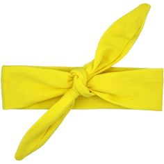 Yellow Knot Headband Knot Headband, Headbands, Baby Bee Costume, Girls Wardrobe, Knots, Little Girls, Girl Outfits, Clothes, Bright Yellow