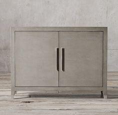 Graydon Shagreen Panel Double-Door Sideboard