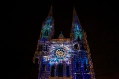 So gorgeous: Chartres Cathedral Illuminated by Jean-Marie Hullot