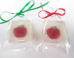 Apple Soap Favors for teacher, back to school, student