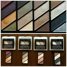 New Eyeshadow Quads by Mary Kay