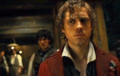 After Eponine dies...That tear... *sniffle* He knows she's not the last one to die before they're done...