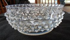 EAPG-ELSON-GLASS-FRENCH-OPALESCENT-90-DEWDROP-MASTER-BERRY-OR-SERVING-BOWL