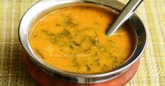 Vendhaya keerai sambar is simple sambar with methi leaves (vendhaya keerai), made similar to the keerai, just give it a sautee and make sambar. With step by step pictures!