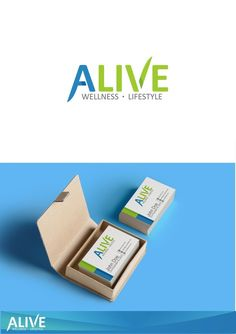 Create an abstract logo for a Wellness and Lifestyle company by I.R