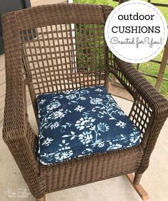 Need a cushion for a bench, swing or outdoor furniture? We can custom make cushions, according to your measurements. Choose from lots of durable outdoor fabric options. Glider Rocker Cushions, Rocking Chair Cushions, Outdoor Chair Cushions, Bench Cushions, Foam Cushions, Outdoor Fabric, Bench Swing, Window Seat Cushions, Custom Cushions