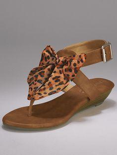 :) More dressy sandals.