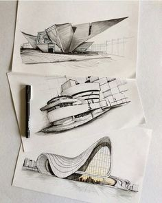 Interesting Find A Career In Architecture Ideas. Admirable Find A Career In Architecture Ideas. Croquis Architecture, Architecture Drawing Sketchbooks, Architecture Concept Drawings, Organic Architecture, Futuristic Architecture, Art And Architecture, Architecture Journal, Architecture Diagrams, Portfolio D'architecture