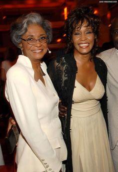 Whitney with Nancy Wilson