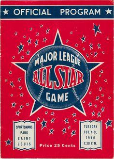 1940 baseball all-star game