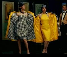"Sarah Paulson and Renee Zellweger in ""Down With Love."" The Gene dolls should have had something like this ..."