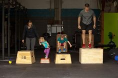 The family that WODs together, stays together.