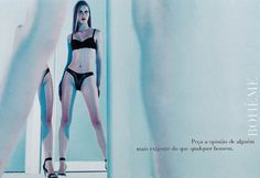 Read more: https://www.luerzersarchive.com/en/magazine/print-detail/valisere-1199.html Valisère Ask for the opinion of someone even more demanding than a man. Campaign for various lingerie models by ValisÞre. Tags: Paulo Vainer,Renata Prado,Claudia Issa,Valisère,DM9DDB, São Paulo