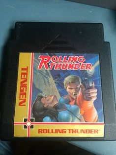 Vintage Working Nintendo NES Game Rolling Thunder
