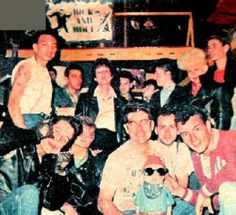 Finalista do campeonato de topetes - 1991