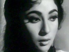 Bollywood Beauty Mala Sinha in the 1957 hit 'Pyaasa'…