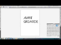 Illustrator - How to use ligatures - YouTube