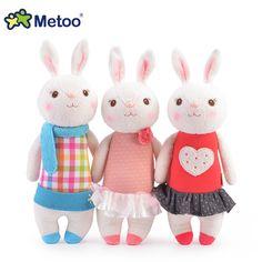 Tiramisu rabbit plush toys Metoo doll kids gifts 8 style c882d3df32