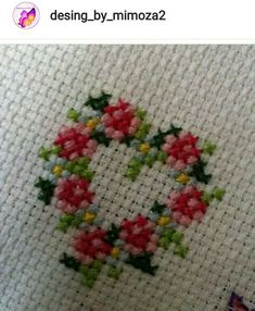Latest Images Cross Stitch heart Ideas Since I've been mix appears considering that I used to be a girl I personally from time to time suppose tha Small Cross Stitch, Cross Stitch Heart, Cross Stitch Borders, Cross Stitch Flowers, Cross Stitch Kits, Cross Stitch Designs, Cross Stitching, Cross Stitch Embroidery, Cross Stitch Patterns