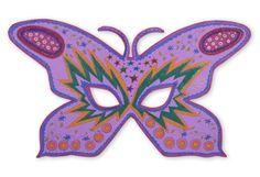 Maske Schmetterling