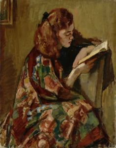 MAGNUS ENCKELL  Jeune Fille Lisant (1921-22)