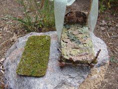 Miniature Fairy Bed or Doll Bed   Flickr - Photo Sharing!