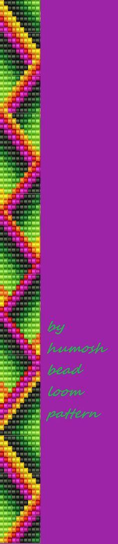 bead loom pattern37 by Humosh on Etsy