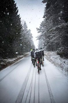 We finished off another weekend of training y-day with some winter madness, at least the pics are cool. @teamtreberg (via Alexander Wetterhall on twitter)
