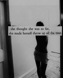 Then she started laxatives & pills too. And now she can't stop.... Even though it's killing her. #dyingtobethin