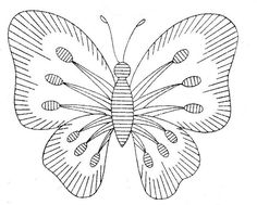 7471 Alice Brooks embroidery butterfly