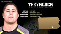 Georgia Tech Football - Signing Day Player Card